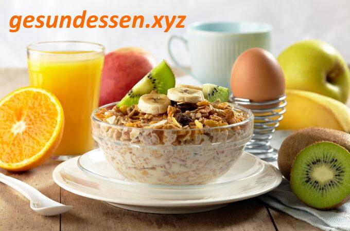 Gesundes Essen und gesunde Lebensweise