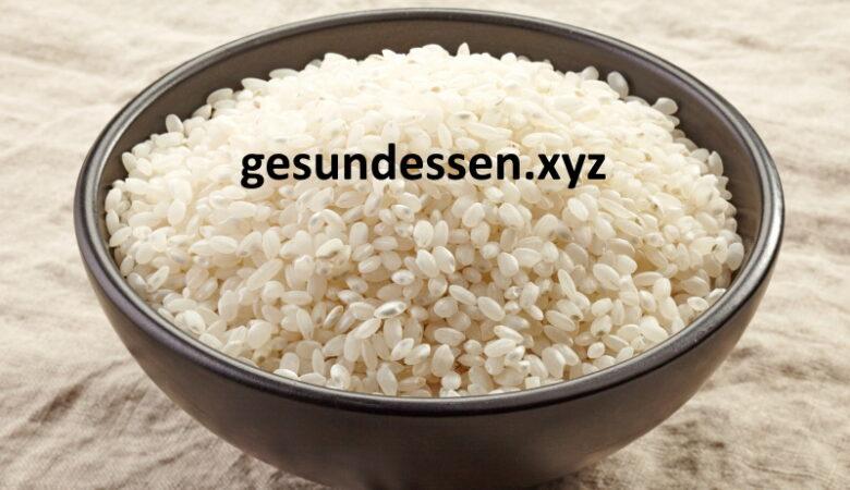 Reisschleimsuppe